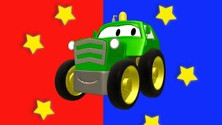 Download Ben the Tractor and his friends in Car City : Tom the Tow Truck, the Car Patrol and Troy the Train Video