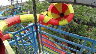 Download Giant Cone Water Slide at Transera Waterpark Video