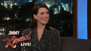 Download Anne Hathaway's Son Hates Her Singing Video