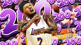 Download NBA 2k17 MyCareer | 200 POINT CHALLENGE | CRAZIEST PERFORMANCE EVER Video