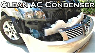 Download How To Clean Car's AC Condenser Video
