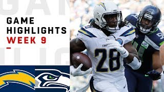 Download Chargers vs. Seahawks Week 9 Highlights | NFL 2018 Video