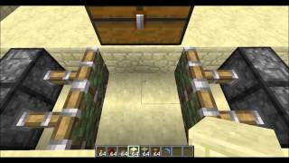 Download Minecraft Tutorial : How To Make a Trapped Chest Trap Video