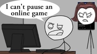 Download How to explain MOM that online games can't be paused Video