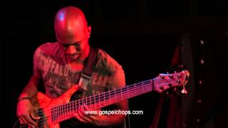 Download BASS SESSIONZ VOL. 2 DVD!! - Mark Peric & Anthony Crawford Trade Bass Solos @ GospelChops Video