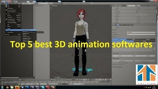 Download Top 5 Best 3D Animation Softwares Video