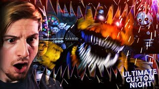 Download UH.. WHY ARE WE IN AN ANIMATRONICS MOUTH. (+ 20/20 mode win!) || FNAF: Ultimate Custom Night Video