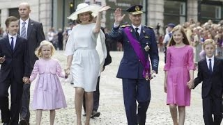 Download Philippe et Mathilde de Belgique la Fête nationale Video
