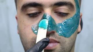 Download ♠️HOW TO WAX FACE, NOSE, EARS ♠️ WARM Waxing Demonstration✔️ Video
