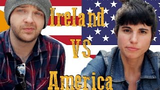 Download Life in Ireland vs The USA!! ( ft Romina ) Video