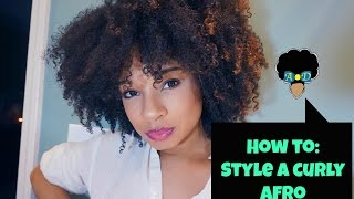 Download Curly Afro Tutorial | Adore Donnie Video