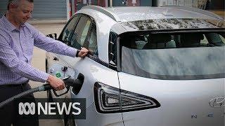 Download Carbon-free fuel: Australian hydrogen car breakthrough could go global Video