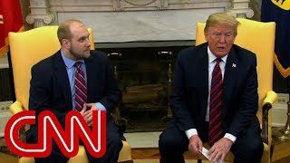 Download Trump meets with freed American prisoner Video