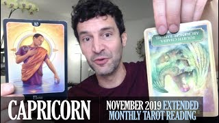 Download CAPRICORN November 2019 Extended Monthly Intuitive Tarot Reading by Nicholas Ashbaugh Video