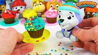 Download Best Learning Videos for Kids Learn Shapes with Paw Patrol Cupcakes Icing and Sprinkles Toy Movie! Video