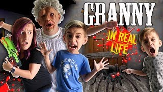Download Granny Horror Game In Real Life! FUNhouse Family (Spider and Playhouse Update) Video