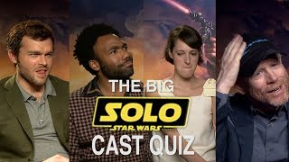 Download The Big Solo Cast Quiz - How well do they know each other? Video