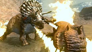 Download BURN T.REX BURN!!! | Beast Battle Simulator | Ep4 Video
