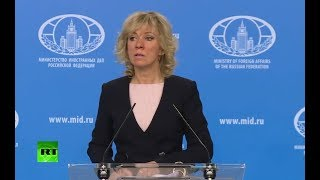 Download Russian Foreign Ministry news briefing Video