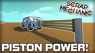 Download Multiplayer Piston Powered Car Challenge! (Scrap Mechanic #182) Video