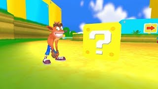 Download What If Crash Bandicoot Was In Super Mario? Video