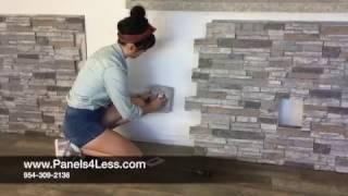 Download Panels4Less WallPanel Installation Video