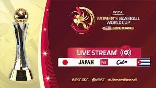 Download Japan v Cuba - Women's Baseball World Cup 2018 Video