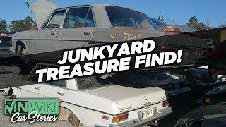 Download We found hidden treasure in a junkyard Benz Video