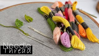 Download Hand Embroidery for beginners | Needle and Threads | HandiWorks #103 Video