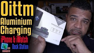 Download Oittm iPhone and Apple Watch Charging Dock Station ⌚ +📱=🔌 : LGTV Review Video