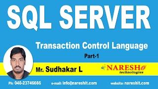 Download Transaction Control Language in SQL Server Part 1 | MSSQL Training Video