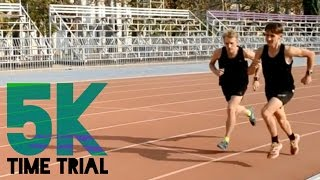 Download Pacing a 16 Minute 5K | Time Trial & Intervals Video