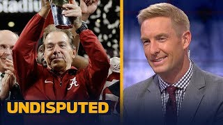 Download Joel Klatt on Nick Saban: 'The best college football coach in the history of our sport' | UNDISPUTED Video