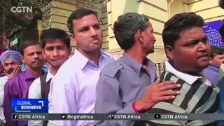 Download India: Growth forecast down on cash ban Video
