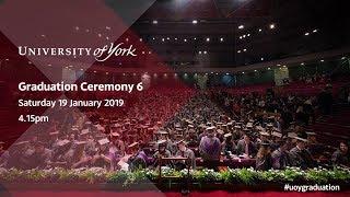 Download Winter Graduation 2019: Ceremony 6, 4.15pm Saturday 19th January Video