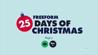 Download Freeform HD US 25 Days of Christmas Adverts and Ident 2018 Video