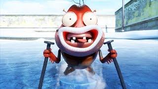 Download LARVA - ICE SKATING   Cartoon Movie  Cartoons For Children   Larva Cartoon   LARVA Official Video