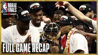 Download RAPTORS vs WARRIORS | Toronto Wins First NBA Championship! | NBA Finals Game 6 Video