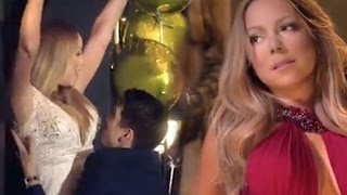 Download Mariah Carey spotted kissing backing dancer Bryan Tanaka just weeks after split from billionaire J Video