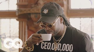 Download 2 Chainz Drinks $600 Coffee (Made from Cat Poop) | Most Expensivest Shit | GQ Video