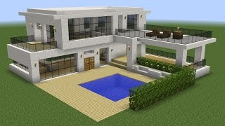 Download Minecraft - How to build a modern house 5 Video