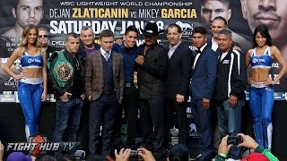Download Carl Frampton vs. Leo Santa Cruz 2 Full Press Conference & Face Off video- Los Angeles, CA Video