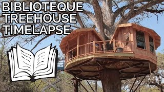 Download Timelapse: Library Treehouse in Texas Hill Country Video