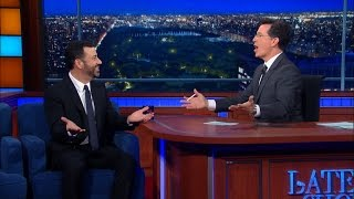 Download Jimmy Kimmel Would Cry If Stephen Died Video