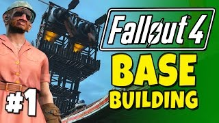 Download Fallout 4 - Building a Base! #1 Fort Ginger ″Spoiler Free″. Video