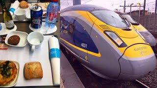 Download Berlin - London by High-Speed Train in First Class (Eurostar) Video