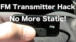 Download FM Transmitter Tip: No More Static! Video