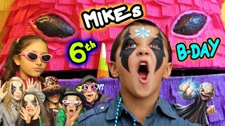 Download Kaos @ Mikes 6th Birthday Party! Skylanders Trap Team Family & Friends Fun! Video