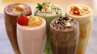 Download 5 Homemade Ice Cream Milkshakes - Gemma's Bigger Bolder Baking Ep 71 Video