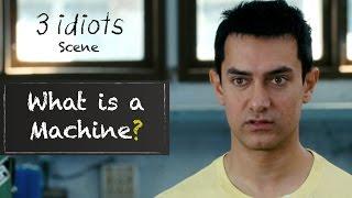 Download What is a machine? - Funny scene | 3 Idiots | Aamir Khan | R Madhavan | Sharman Joshi Video